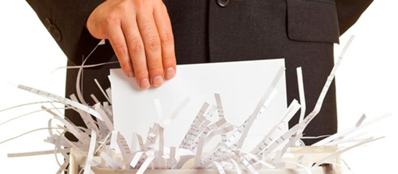 La importancia de la Eliminación de documentos en las empresas
