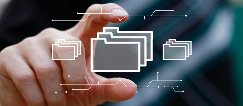 ¿Cómo archivar los documentos digitalizados?