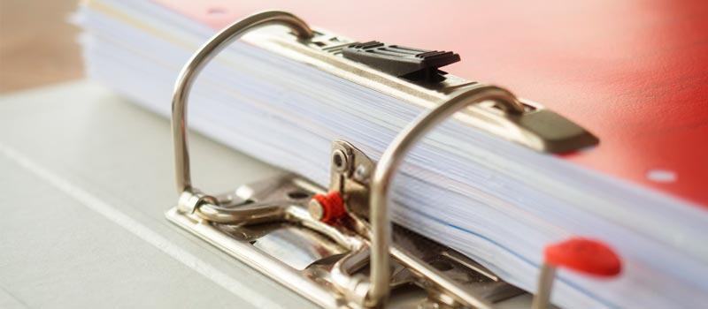 gestión documental en archivo