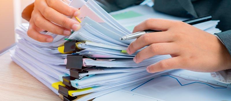 Cómo conservar los documentos ante una liquidación de empresa