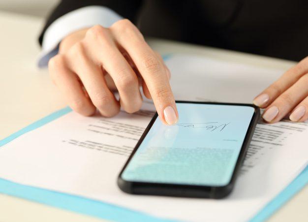 Firma electronica validez jurídica